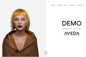 DEMO concept salon AVEDA